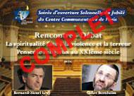 COMPLET - Rencontre-débat : « La spiritualité face à la violence et la terreur -Penser le religieux au XXIème siècle »